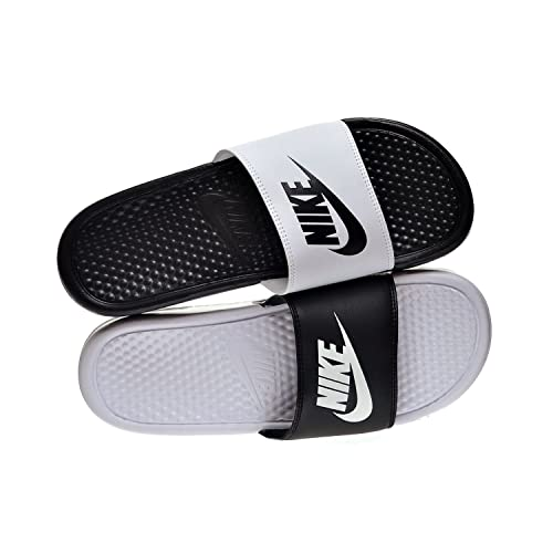 innovative design 2b97a e6ee1 Nike Benassi JDI Mismatch Men s Sandals Black White 818736-011 (13 D(