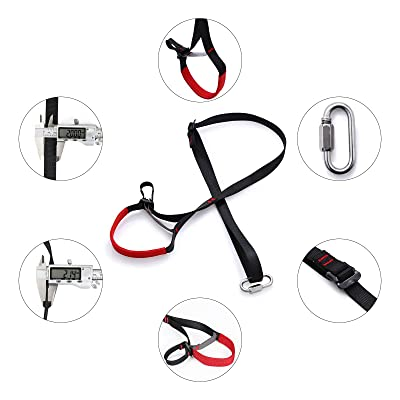 Adjustable Climbing Ascender Sling Foot Loop Ascender Webbing Sling for Outdoor