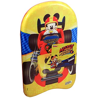 Mickey and The Roadster Racers Foam Kickboard Standard: Toys & Games