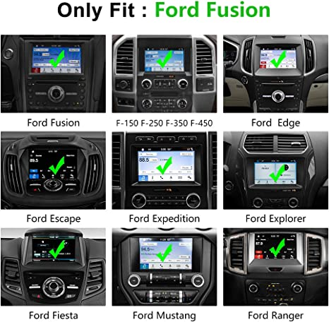 1-Pack Tempered Glass J/&D Compatible for 2013-2020 Ford Fusion//2015-2020 Ford Edge//2018-2020 Ford Expedition//2015-2020 Ford Mustang 8 inch Car Navigation Screen Protector HD Clear Glass Protector