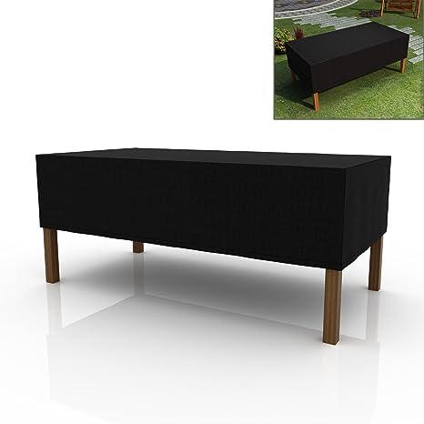 Yaheetech 4 Seat Oxford Fabric Waterproof Rattan Cube Set Garden Patio Furniture Covers Outdoor Furniture Shelter