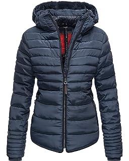 Guiran Damen Daunenjacke Warme Mantel Mit Kapuze Kurze