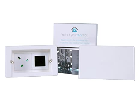 Syncbox Direct- Recessed & covered wiring solution: Amazon ... on