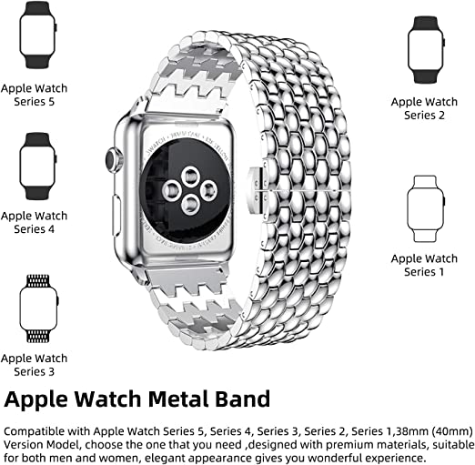 DONWELL for Apple Watch Strap 38mm 40mm