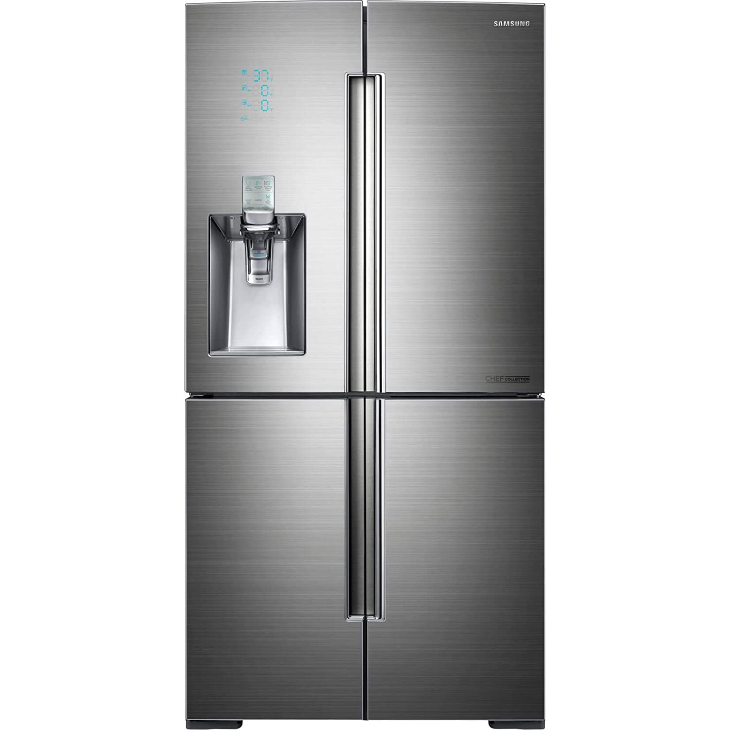 Amazon.com: Samsung rf34h9960s4 Chef Collection 34,3 CU. FT ...