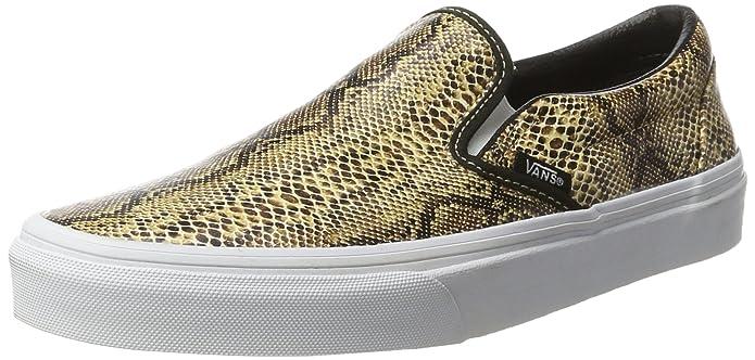 Vans Classic Slip-On Sneaker Damen Schlangenhaut Muster