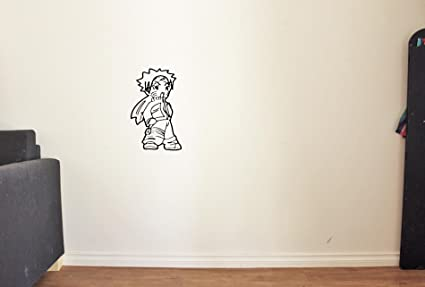 Amazon.com: ResorvDecals Funny Anime Vinyl Wall Decal for ...