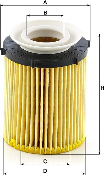 Original Mann Filter Ölfilter Hu 711 6 Z Ölfilter Satz Mit Dichtung Dichtungssatz Für Pkw Auto