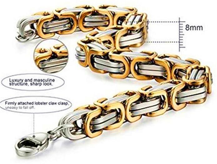 Jewelry JewelBeauty Stainless Steel Mens Cross Silver Gold