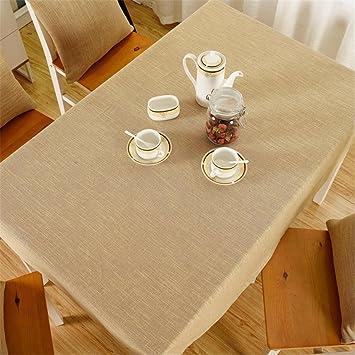 XUHAZI®Tablecloth Table runner einfach Warm gelb Tischdecken Tuch ...