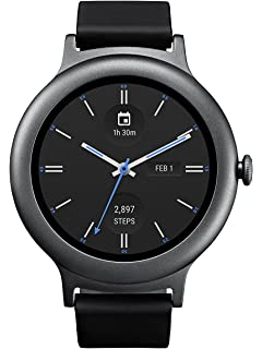AUSATN LG Watch Style Smartwatch with Android Wear 2.0 - Titanium -