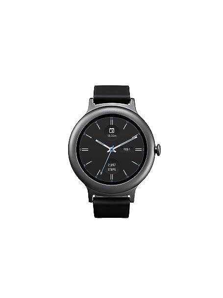 LG Electronics LGW270.AUSATN - Reloj Inteligente para LG con Android Wear 2.0 (Titanio