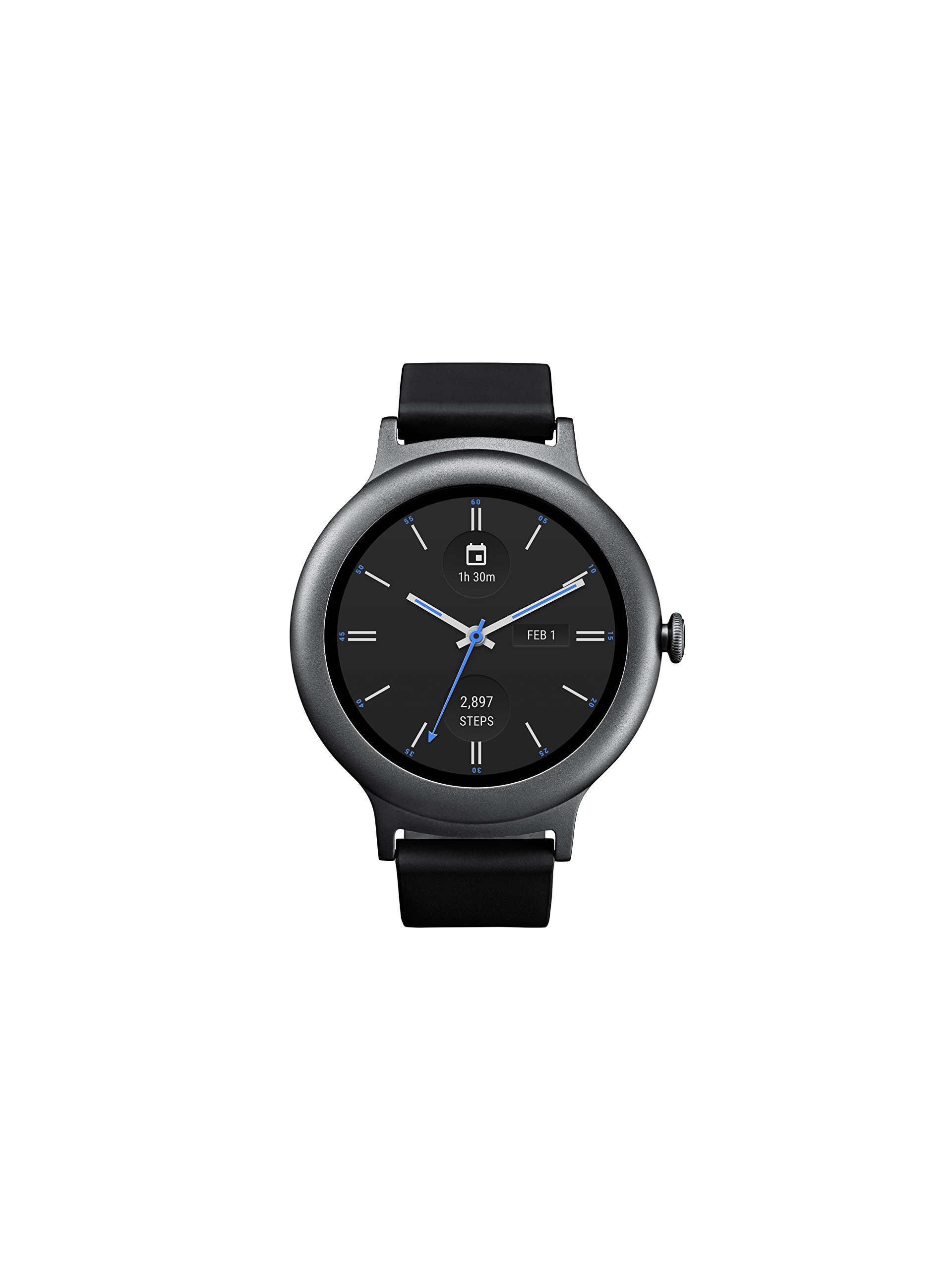 LG Electronics LGW270.AUSATN LG Watch Style Smartwatch with Android Wear 2.0 - Titanium - US Version by LG Watch Style