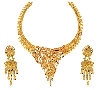 Buy Mahabir Danwar Jewellers 22k 916 Yellow Gold Jewellery Set