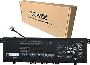 OUWEE KC04XL Laptop Battery Compatible with HP Envy X360 13-AG 13-AR Envy 13-AH 13-AQ Series HSTNN-DB8P HSTNN-IB8K KC04053XL L08496-855 L08544-1C1 L08544-2B1 TPN-W133 TPN-W136 15.4V 53.2Wh 3454mAh