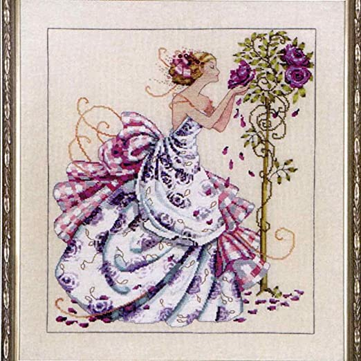 MIRABILIA Cross Stitch PATTERN and EMBELLISHMENT PACK Roses of Provence MD124