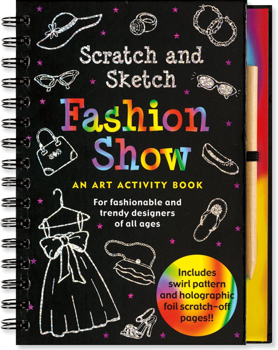 Fashion Show Scratch and Sketch: An Art Activity Book for Fashionable and Trendy Designers of All Ages PDF