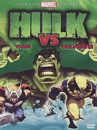 amazon co jp hulk vs wolverine hulk vs thor dvd gadget