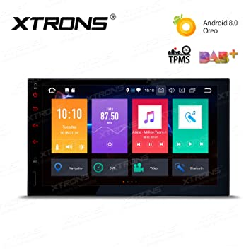 XTRONS Android 8 0 Double Din Car Stereo Octa Core 2GB