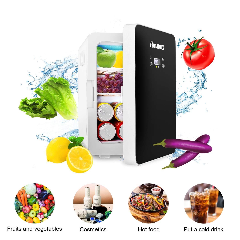 Compact Fridge Electric Cooler and Warmer 20 Liter , AC DC Portable Refrigerator, Energy Star Single Door freezer With Digital Display