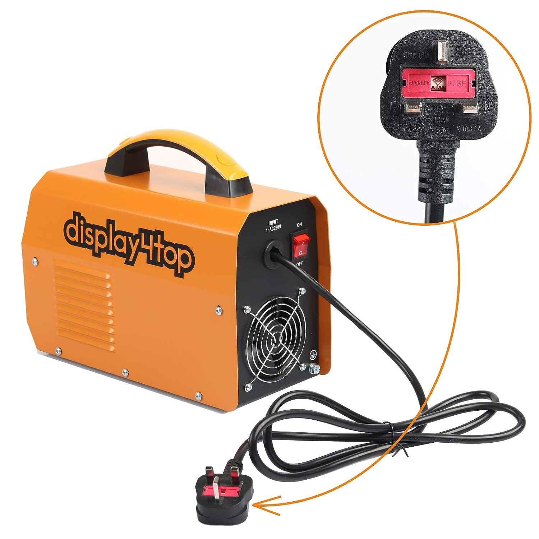 Display4top 200 Amp Inverter Welder ARC MMA 145 Digital Display LCD Hot Start Welding Machine Portable Welding Machine