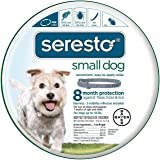 Bayer Seresto Flea and Tick Collar for Dogs, 8 Month Protection