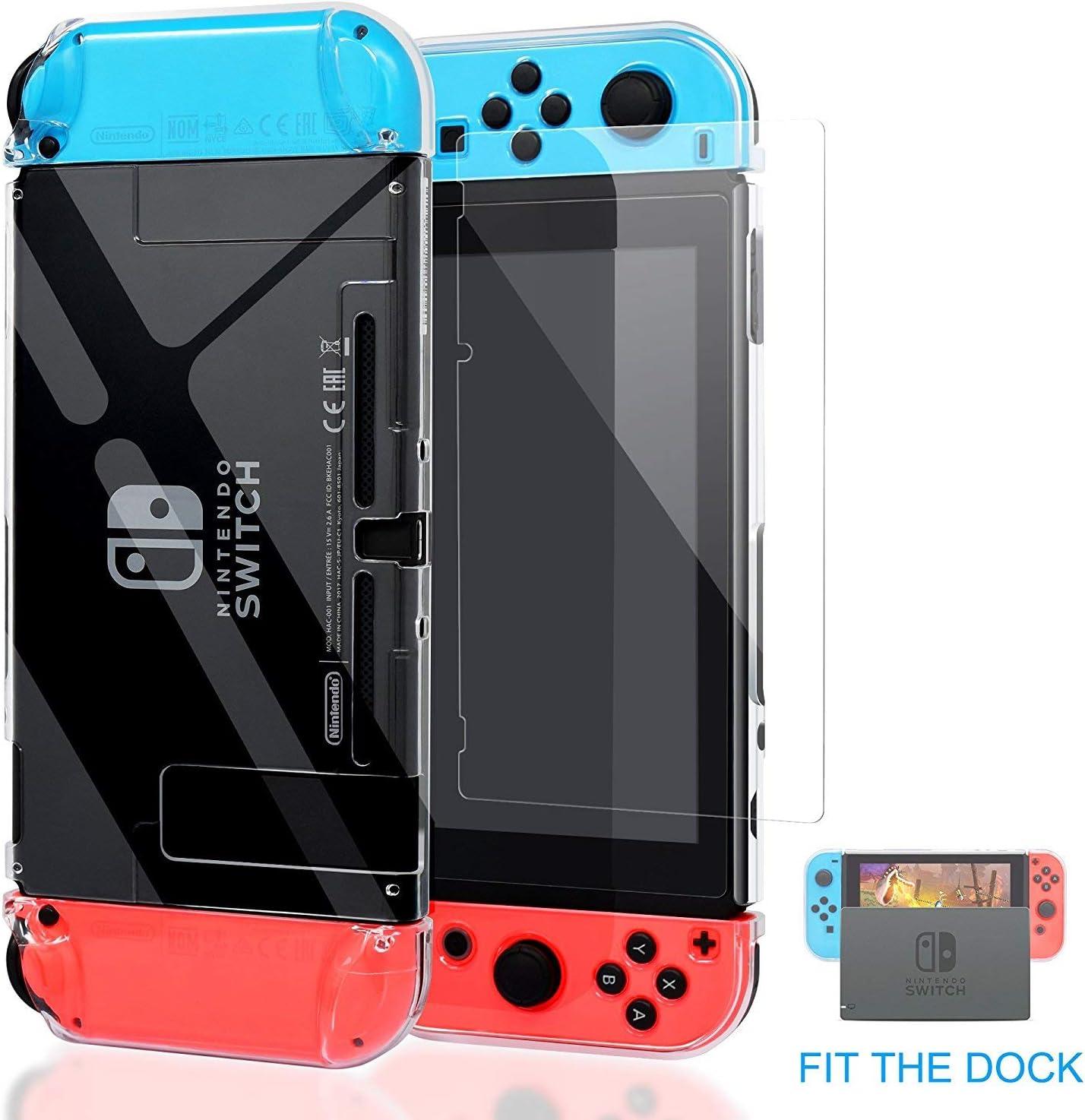 Kailisen Carcasa Nintendo Switch, Funda Nintendo Switch con ...