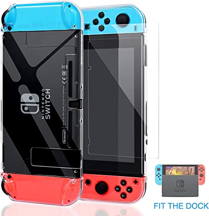 Kailisen Carcasa Nintendo Switch, Funda Nintendo Switch con ...