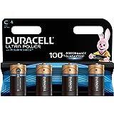 Duracell Ultra Power Alkaline Type C Battery (Pack of 4)