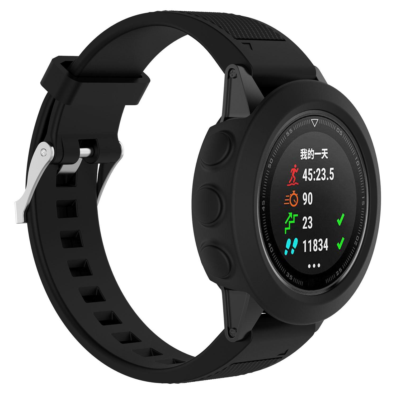 iFeeker Funda Protectora de Funda Protectora para el Reloj Garmin Fenix 5, Silicona Suave, a Prueba de Golpes y Resistente al Desgaste.
