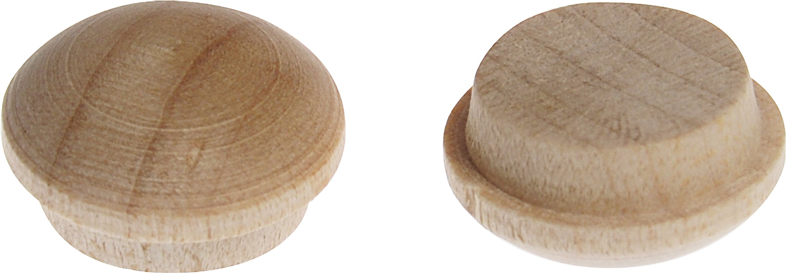The Hillman Group 53015 Wooden Round Button, 3/8-Inch, 35-Pack