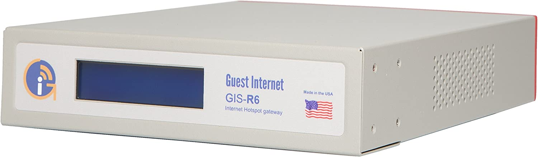 GIS-R6 Internet Gateway for Business Hotspots