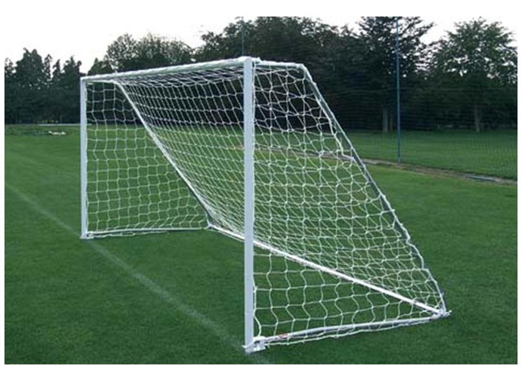 サッカースポーツトレーニングEquipments HeavyポリエチレンコードMini Goal Netsのみ B01J7OMZOS 16'