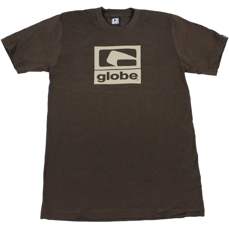 GLOBE Skate Shoes SHIRT G-2 Slim Chocolate Sz SMALL