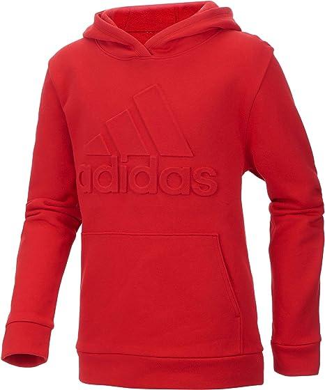 adidas Sweat à Capuche avec Logo en Relief pour garçon