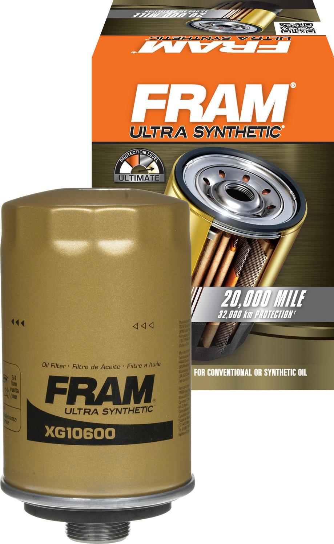 FRAM XG10600 ULTRA Full-Flow Spin-On Oil Filter