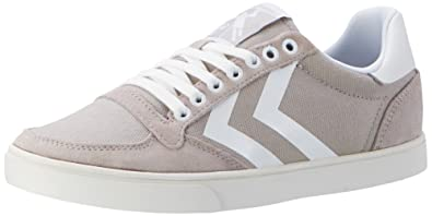 Hummel Slimmer Stadil Waxed Canvas Lo-top, Unisex Adults' Low-Top Sneakers