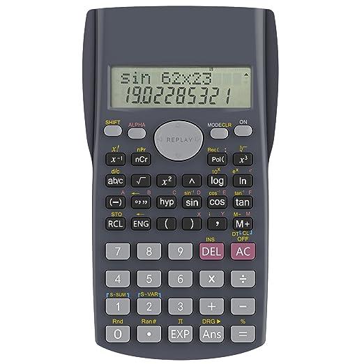 26 opinioni per Calcolatrice Scientifica, Helect 2 Righe Calcolatrice Scientifica Elettronica