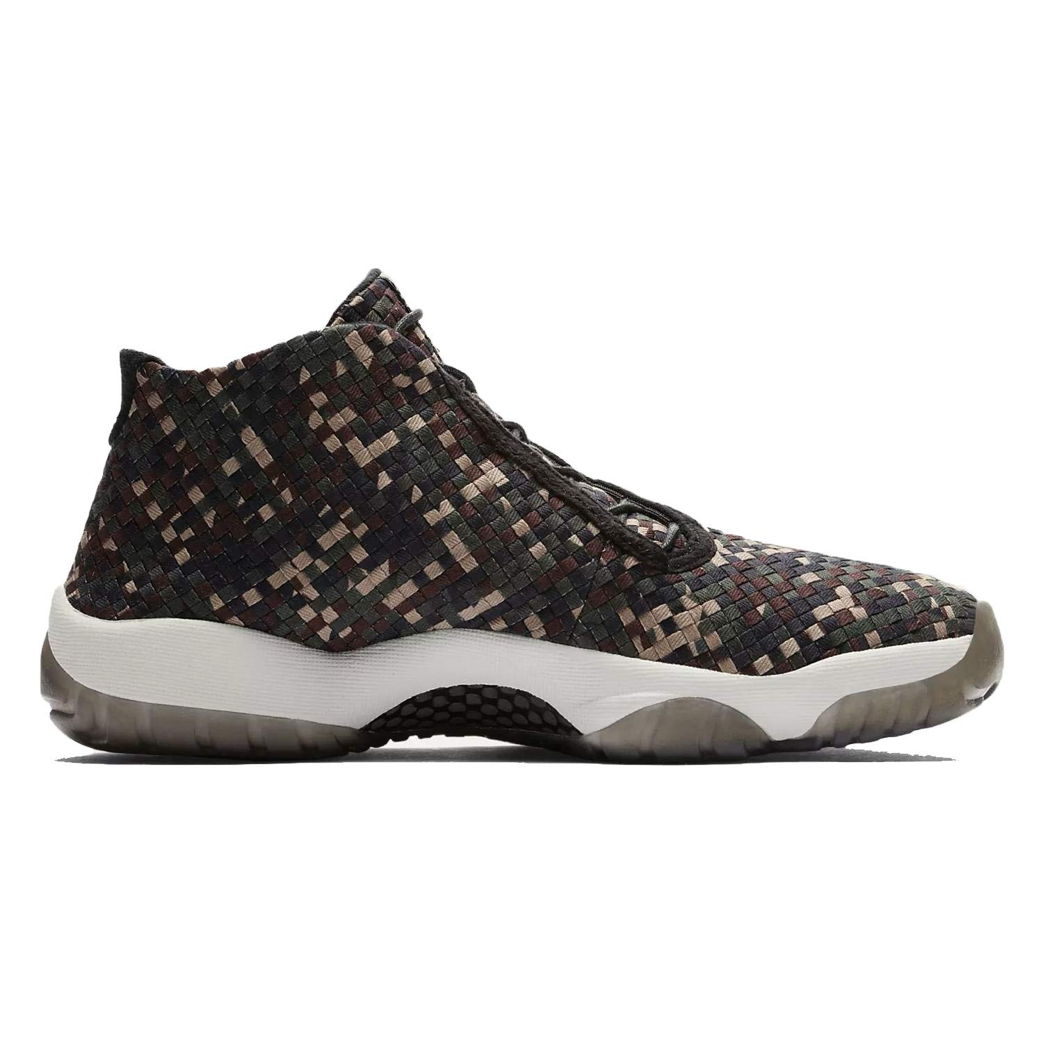 Image of Basketball Nike Men's Air Jordan Future Premium Dark Army/Black-Sail 652141-301 (Size: 9)