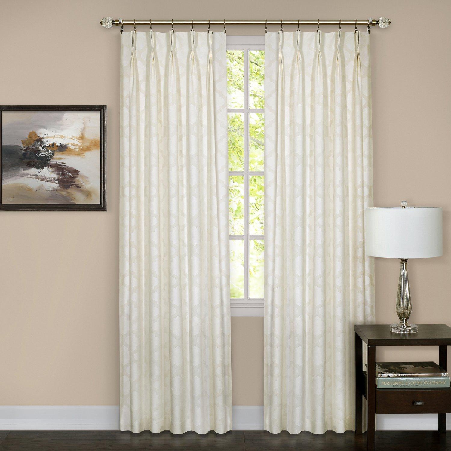 pleated pinch semi at pleat pom window panel single treatments curtain wayfair curtains sheer pdp solid ca home