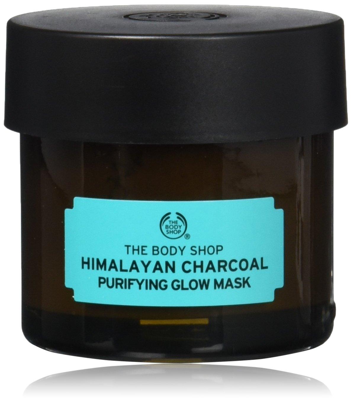 The Body Shop Himalayan Charcoal Purifying Glow Face Mask, 75ml (Vegan)