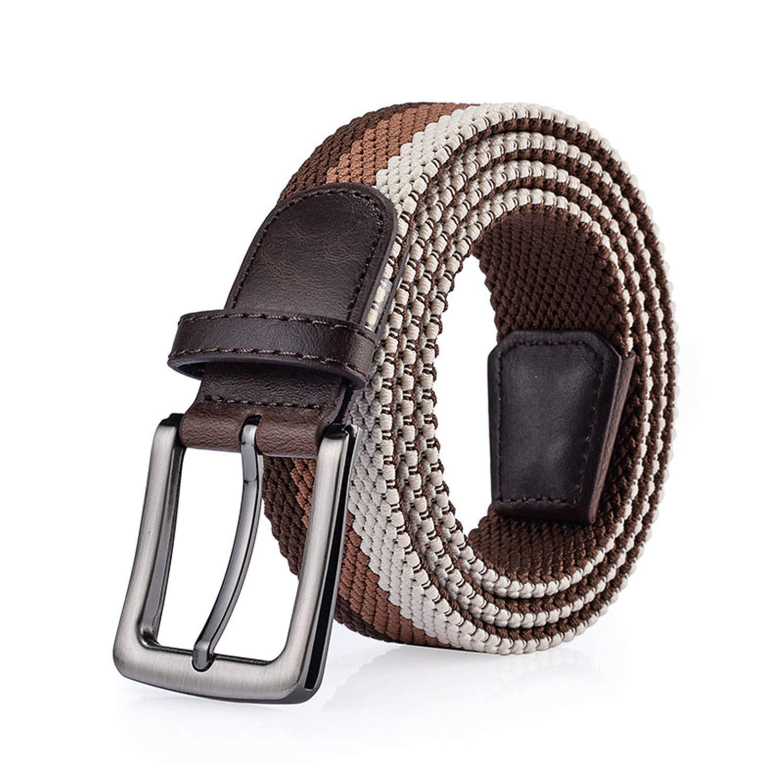 Unisex Breathable Military Belt Tactical Belt Men /& Women elastic Belts For Jeans Male Canvas Straps 6 Colors
