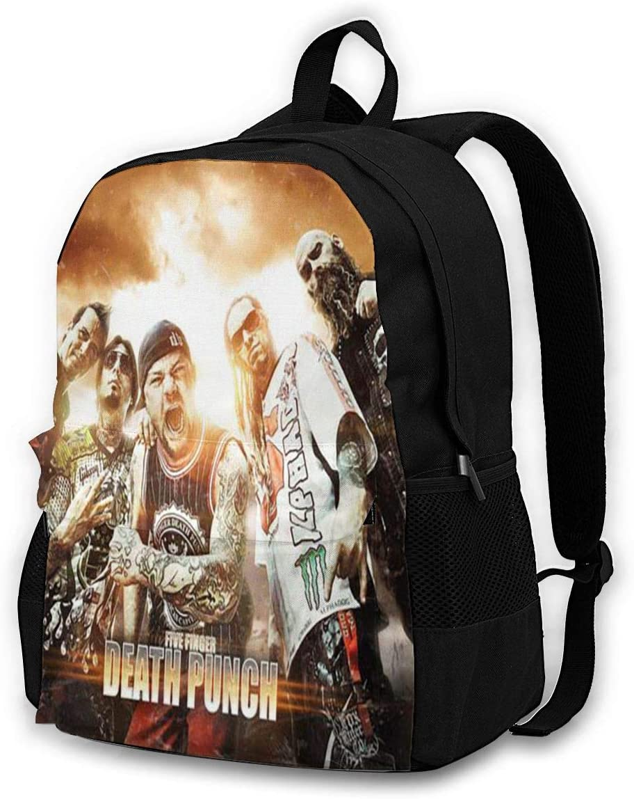 Backpack Office Bag Unisex School Bag 5FDP 5 Classic Light and Stylish Travel Backpack