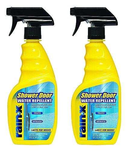 Rain X 630023 Shower Door Water Repellent Zozemkl 16 Fl Oz 2