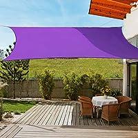 OldPAPA Luifel rechthoekig zonnescherm blok 95% UV waterdicht tuin balkon zwembad lichtgewicht overkapping met gratis…