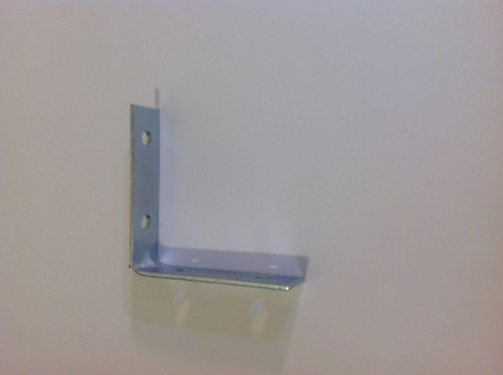 ALF_CAD 3 x 3 L Bracket Angle Iron Corner Brace Joint Metal Install Shelf Cabinet