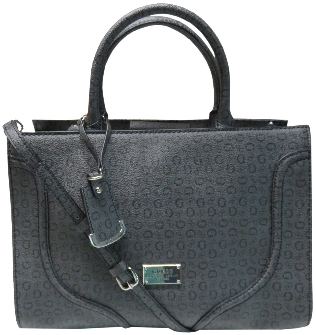 Guess Women's Purse Handbag Jackets Satchel Coal by GUESS