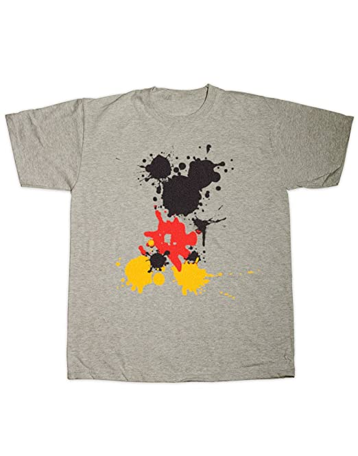 d036704b4a8ad Sherbet Dip Mickey Splatter T-Shirt (Small - 5XL) 100% Cotton ...