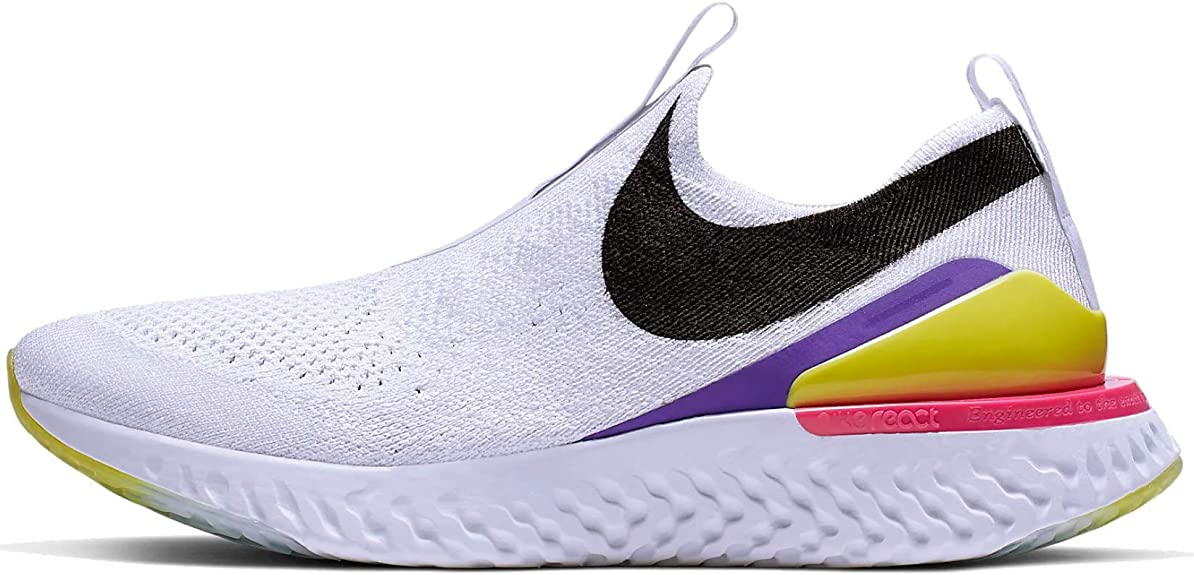 1. Nike Women's Epic Phantom React Flyknit Running Shoes