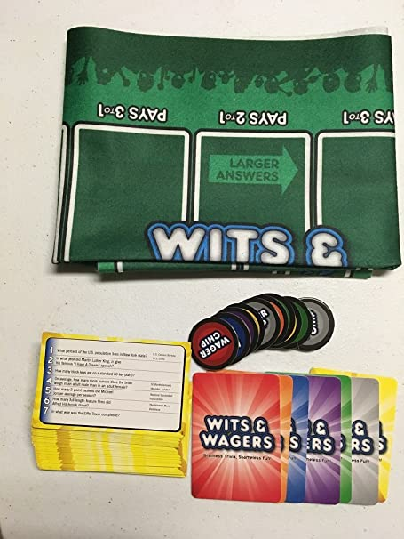 North Star Games Wits and Wagers 2nd Edition Party Game